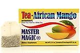 Te de Mango Africano Master Magic African Mango Tea Detox Tea Extra Strength Irvingia Gabonensis with Te Verde, Te Rojo, Te Blanco MADE IN USA