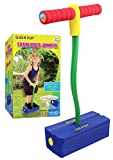 Click n' Play Foam Pogo Jumper - Makes Squeaky Sounds with Flashes LED Lights