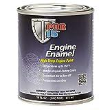 POR-15 42008 Aluminum Engine Enamel - 1 Pint