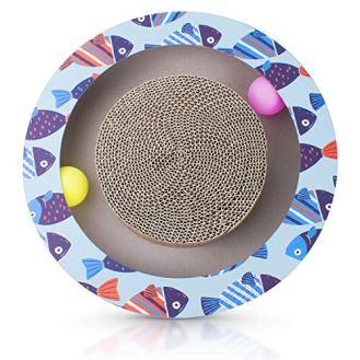 Petper-Cat-Scratcher-Scratching-Pads-Round-Cat-Scratch-Board-with-Ball-Toy
