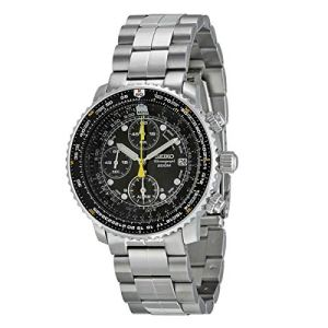 SEIKO Men's Pilot Watch Alarm Chronograph 20