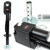 Big Horn 3500 LBS Electric Trailer Tongue Jack - Sealed All-Weather Housing - Pre-Wired 7 Pin Connector