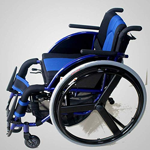 ZJN-JN Walking silla de ruedas de alimentación aux Silla de rehabilitación médica, en silla de ruedas, silla de ruedas plegable ligero Suministros Médicos conducción médica edad, Ocio Deportes silla d