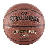 Spalding Never Flat Basketball - Official Size 7 (29.5')