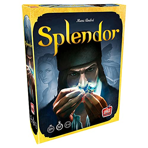 Splendor Board Game (Base Game) | Family Board Game | Board Game for Adults and Family | Strategy...