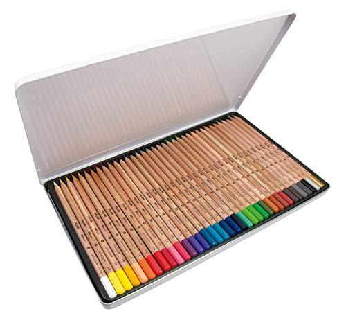 Caja metálica 36 lápices de colores con mina grande Ø3,5
