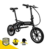 """SWAGCYCLE EB5 Plus Folding Electric Bike with Removable Battery 