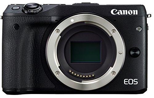 Canon ミラーレス一眼カメラ EOS M3 ボディ(ブラック) EOSM3BK-BODY
