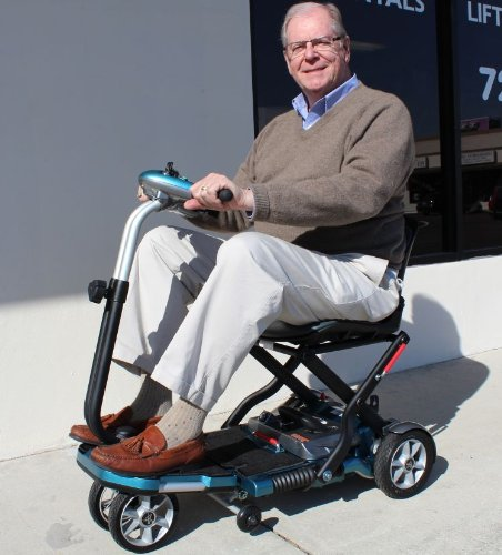 Transport Foldable Travel Senior Mobility Scooter with Lithium Batteries