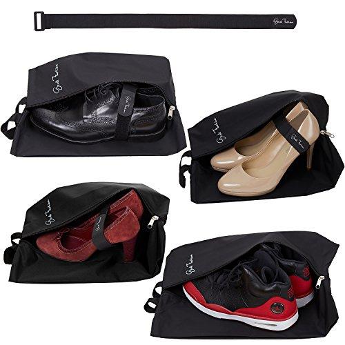 Travel Shoe Bags for Men & Women - Set...