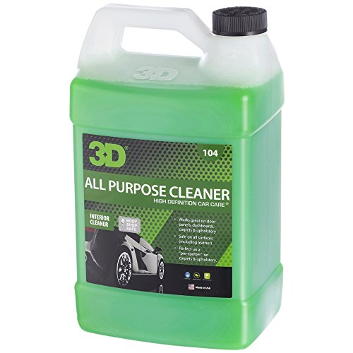 3D All Purpose Cleaner - 1 Gallon | Safe, Biodegradable Degreaser | Environmentally Friendly Car...
