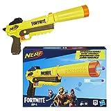 Hasbro Nerf Fortnite SP-L, Blaster Ufficiale con 6 Dardi, Colore Giallo, E6717EU4