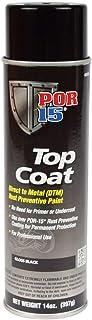 POR-15 45818 Top Coat Gloss Black Spray Paint 15 fl. oz.