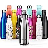 Proworks Bouteille d'eau Isotherme, sans BPA, Gourde INOX Reutilisable...