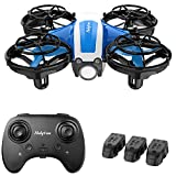 Holyton Mini Drone for Kids Beginners Adults, Hand Operated/Remote Control Quadcopter with 21Mins...
