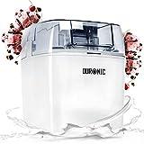 Duronic IM540 Sorbetière électrique à glace/sorbet/yaourt glacé/crème...