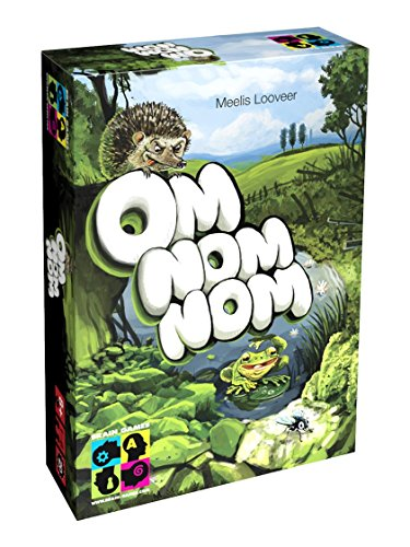 Brain Games Om Nom Nom Board Game - Solo or Multiplayer Strategy Game for Kids, Age 8+, Teenagers and Adults - Award Winning Family Fun!, BGP5090