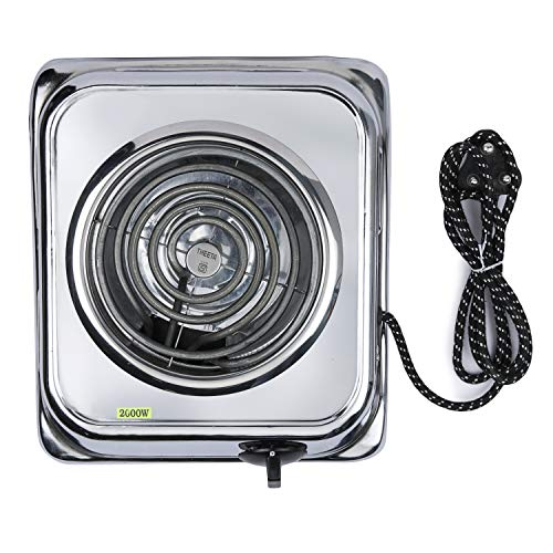 INDIAN LOCAL PRODUCT. MADE IN INDIA. FAST HEATING & MULTIPURPOSE: 2000 Watt Power Consumption, Easy To Carry & Use. This Electric Coil Stove Has Much More Fast Heating As Compare To Regular LPG Gas Stoves, Thus Reducing Cooking Time. IDEAL For Homes,...