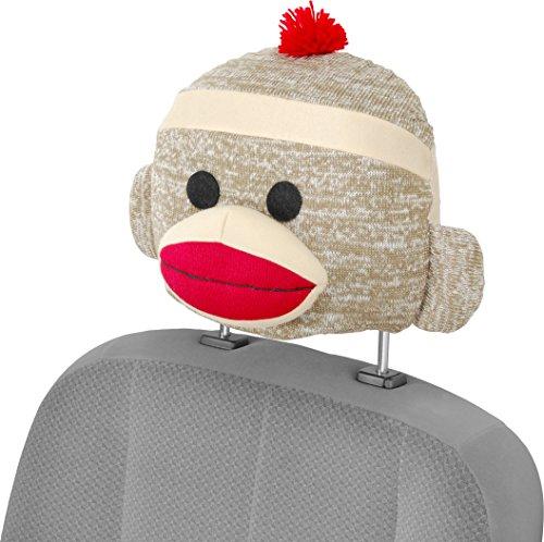Bell Automotive 22-1-56705-8 Sock Monkey Seat Caps Headrest Cover
