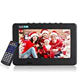 11,6 Pulgadas TV portátil, LED pequeña Televisión con TDT DVB-T/T2 Dos...