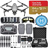 DJI Mavic 2 Pro Drone Quadcopter with Hasselblad Camera, 2 Batteries, 6 pc Filter Kit, SanDisk...