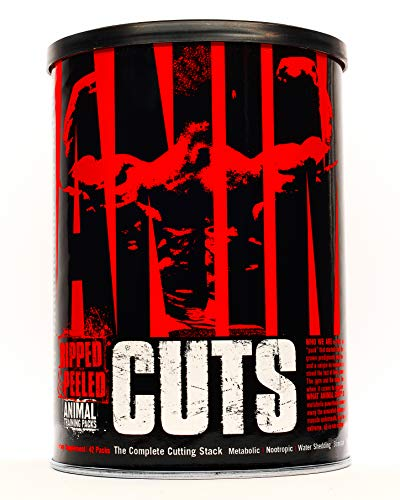 Animal Cuts  All-in-one Complete Fat Burner Supplement with Thermogenic and Metabolism Support - Energy Booster, Raspberry Ketones and Thyroid Complex  42 Packs