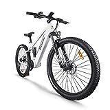 Bicicleta de montaña eléctrica de 27,5 Pulgadas, Motor Central eléctrico BAFANG 48V 750W, con...