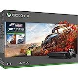 Comprenant le jeu Forza Horizon 4 et le jeu Forza Motorsport 7, la console Xbox One X avec lecteur Blu-ray 4K Ultra HD , le streaming en 4K et la technologie High Dynamic Range, 14 jours d'essai au Xbox Live Gold et 1 mois d'essai au Xbox Game Pass L...