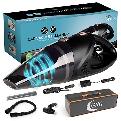 Handheld Car Vacuum Cleaner 12v Portable Cordless Vacuum with Car & Wall Rechargeable