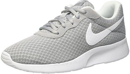 Nike Damen Tanjun Laufschuhe, Grau (Wolfgrau/Weiß), 38 EU