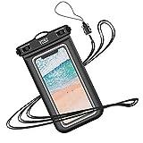 YOSH Pochette Étanche Smartphone IPX8 Sac étanche pour Téléphonepour iPhone 11 X XR XS 8 7 6s...