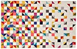 nuLOOM Triangle Geometric Area Rug, 5' x 8', Multi