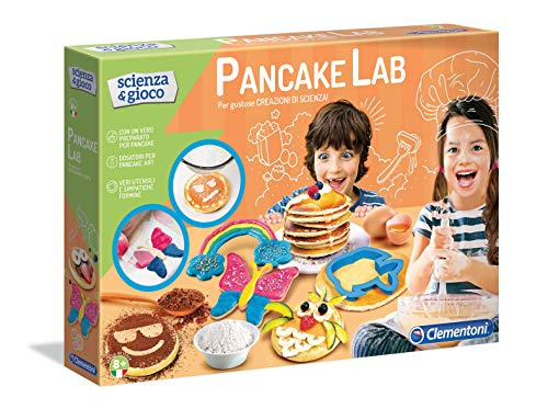 Clementoni- Scienza Pancake Lab, Gioco scientifico, Multicolore, 19120