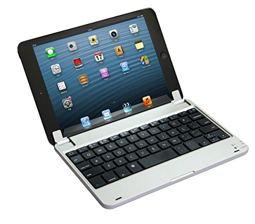 DingDong AppleのiPadミニ3 2のための磁気アルミニウムケースカバーBluetoothキーボードドック