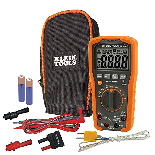 Klein Tools MM600Auto-Ranging Multímetro Digital, 1000V