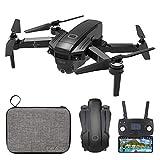 le-idea IDEA30 - Pieghevole Brushless GPS Drone con Telecamera 4K (16MP)Lente Grandangolo,5GHz WiFi FPV, Durata Batteria 20 Minuti, 1080p Posizionamento Flusso Ottico,Telecomando schermo LED, Borsetta