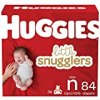 Baby Diapers Size Newborn, 84 Ct, Huggies Little Snugglers