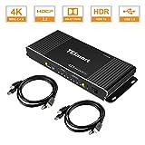 TESmart HDMI KVM Switch 2 in 1...