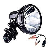Lámpara de xenón de Alta Potencia de 12 V, Pesca de Mano al Aire Libre, 35-220 W H3, reflectores HID, reflectores de Hernia, antorchas estándar