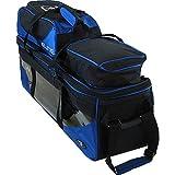 Elite SE Triple Tote Plus Royal Blue Bowling Bag - Carry & Protect Equipment - Durable Bag Holds 3...