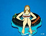 Hooters Restaurant Collectable Enamel Girl Christina Tubing Mobile AL Alabama Lapel Pin