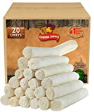 Retriever roll 9-10 inch All Natural Rawhide Product (20 Pack)
