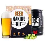 BrewBarrel Kit de Brassage Bière Blonde - Fabrication de la Bière Faites...