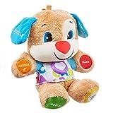 Fisher-Price Puppy Eveil Progressif jouet bébé, peluche interactive, plus de 50 chansons et 3 niveaux d'apprentissage, version française, 6 mois et plus, FPM44
