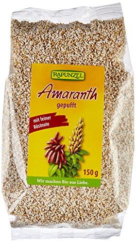 Rapunzel Bio Amaranth gepufft, 6er Pack (6 x 150 g)