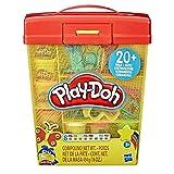 Play-Doh – Super Boite à accessoires et 5 pots de pate à modeler de 56g...