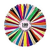 KGS-Lot de 100fermetures à glissière en nylon pour couture, 5tailles |...