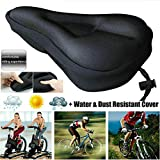 1PC Cycling Bike Gel Padded Soft Saddle Seat Cover,Mountain Bike Comfort Soft Gel Pad Comfy Cushion Saddle Seat Cover Bicycle Cycle
