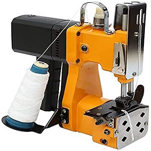 4YANG Macchina da Cucire Portatile Closer Stitcher Impacchettatrice elettrica Sigillatura Cuciture per Sacchi di Serpente Intrecciati Sacchi in Carta di plastica (220V)