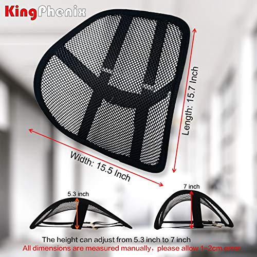 Product Image 7: Lumbar Support (2 Pack) with Breathable Mesh, Suit for Car, Office Chiar